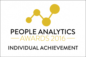 People Analytics Awards - Individual achievement