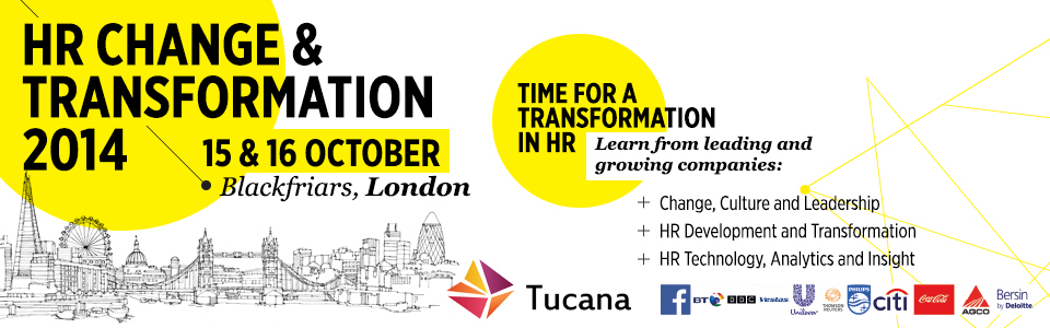 HR Change & Transformation 2014 London