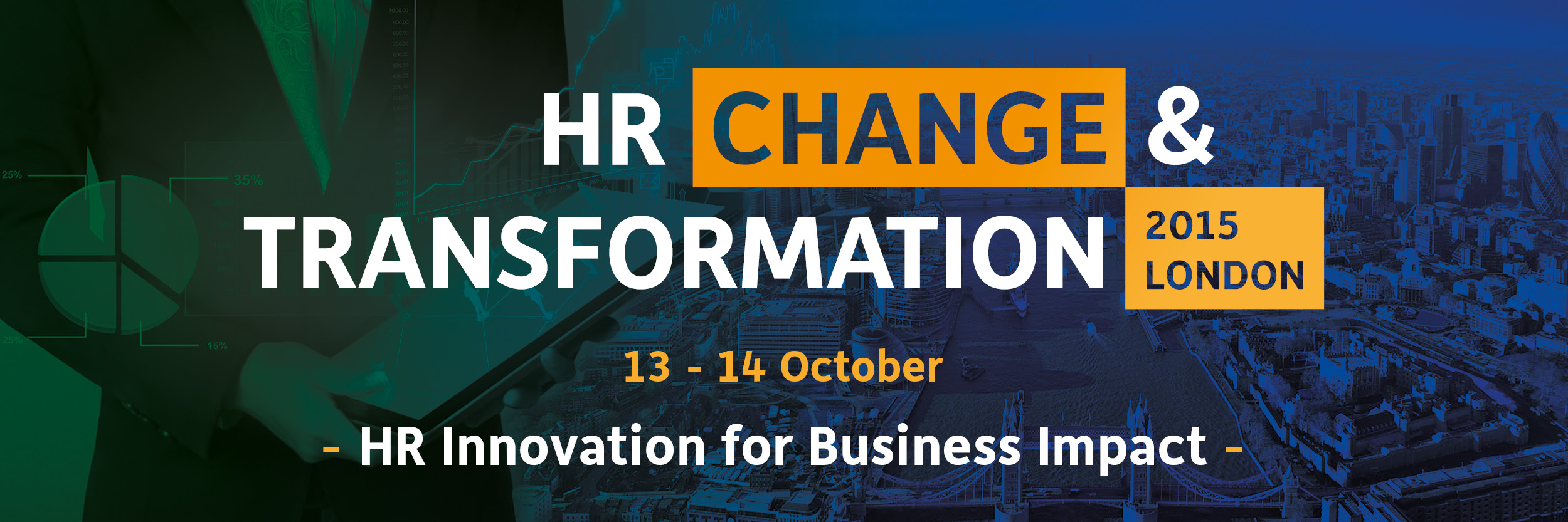 HR change transformation 2015 london