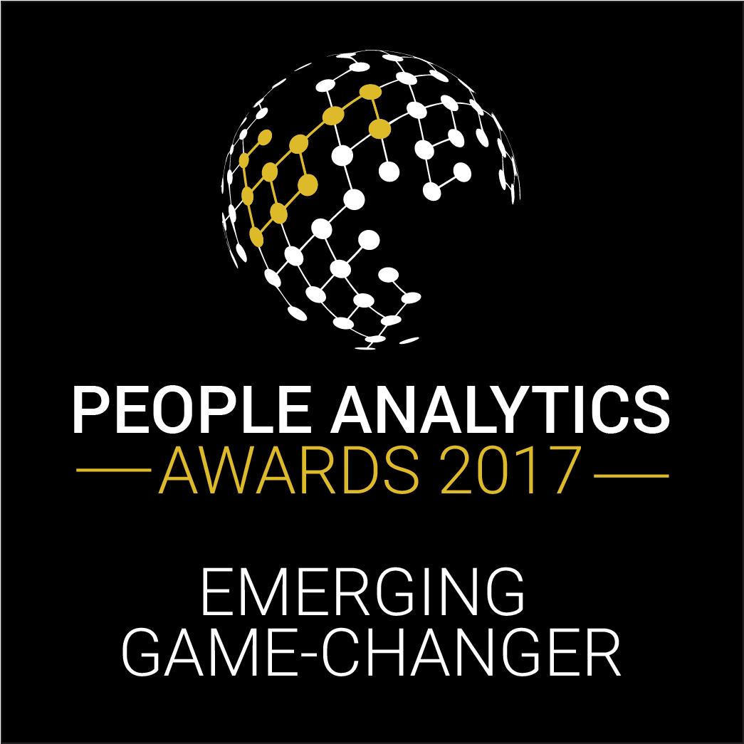 people analytics awards 2017 emerging game-changer