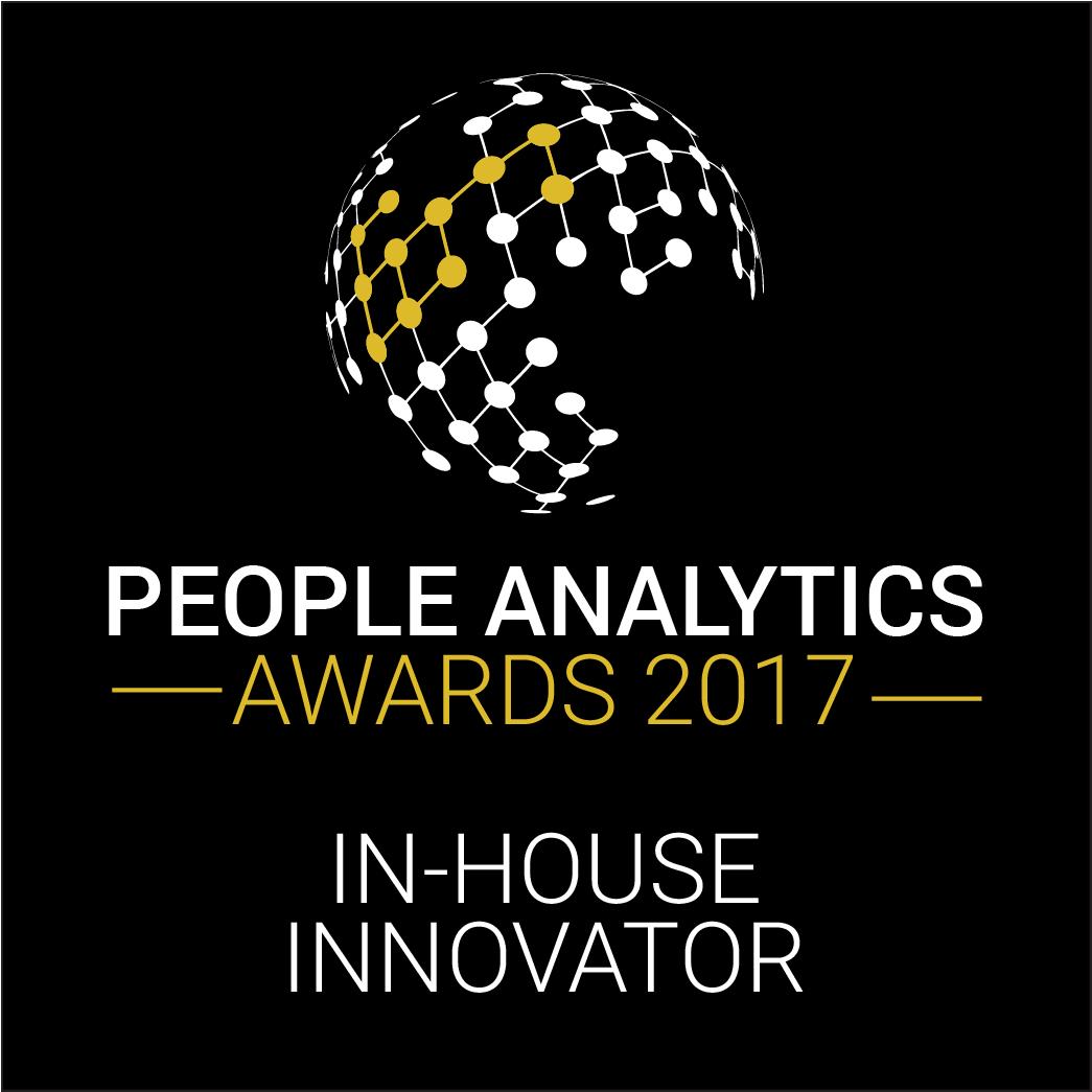 people analytics awards 2017 in-house innovator