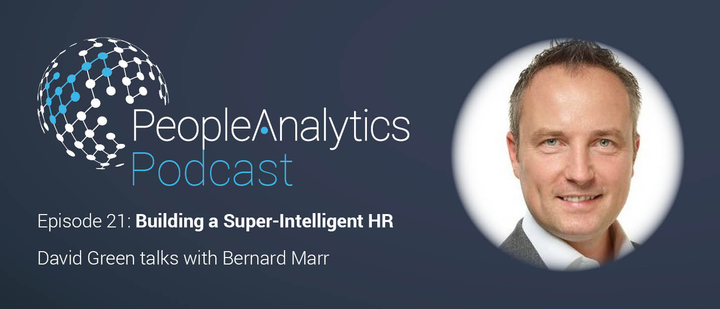 Read more about the article People Analytics Podcast – Bernard Marr: Building a Super-Intelligent HR Function | TPAP021