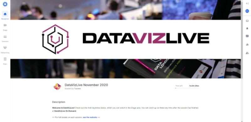 DataVizLive online datavisualisation conference