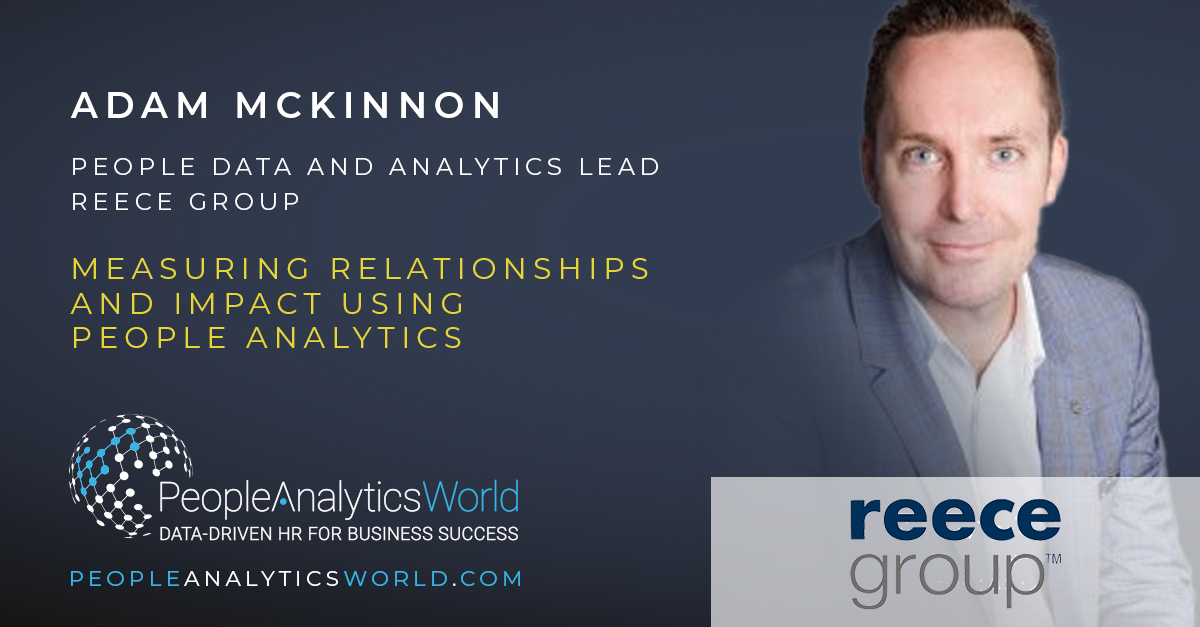 Measuring Relationships and Impact Using People Analytics