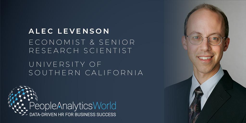 Alec Levenson Organisational Development People Analytics World