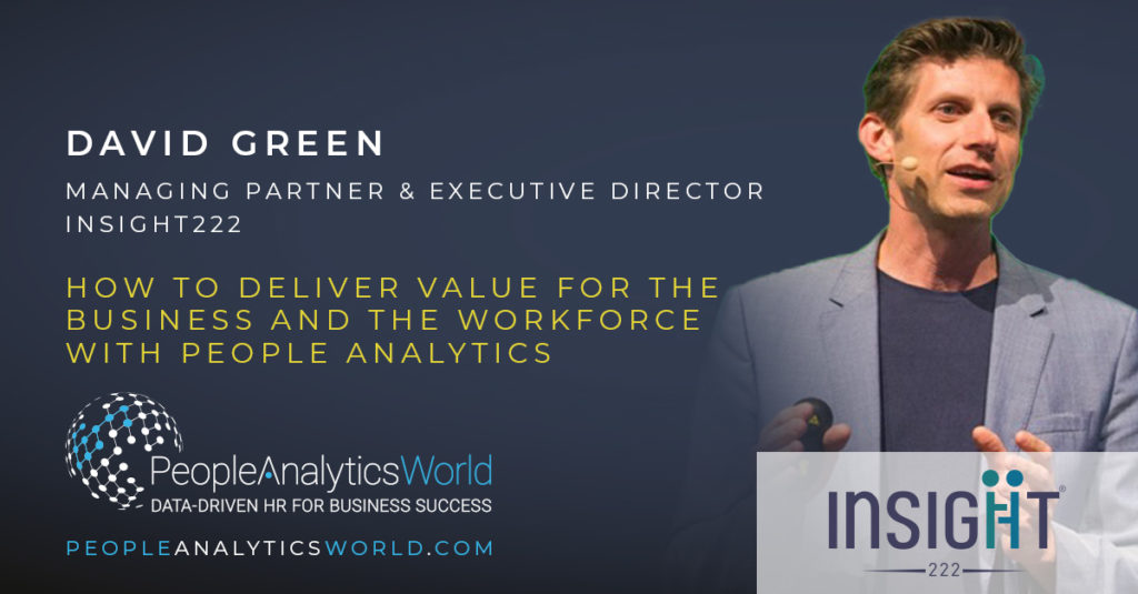 David Green Insight222 Business Value People Analytics