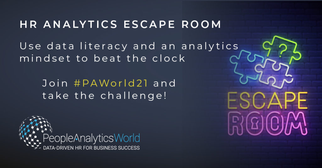 HR Analytics Escape Room PAWorld21