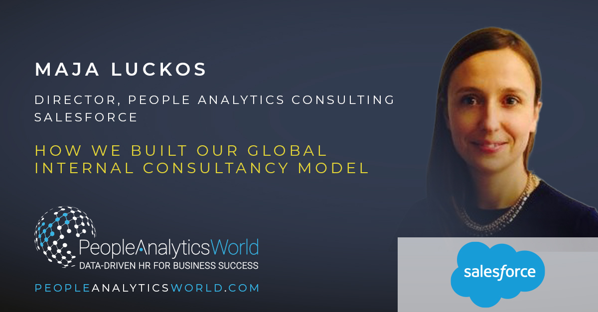 Maja Luckos Internal Consultancy People Analytics Salesforce