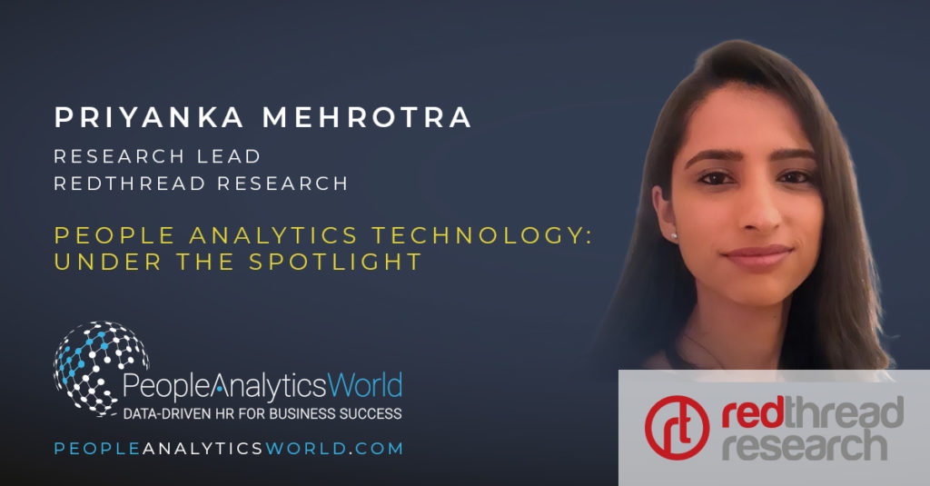Priyanka Mehrotra RedThread Research People Analytics Technology