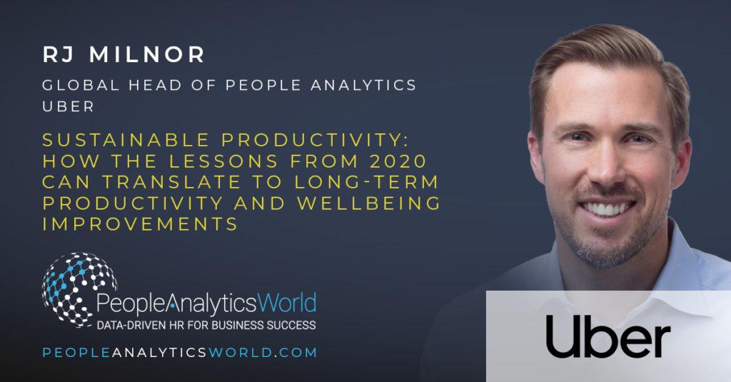 RJ Milnor Uber Wellbeing People Analytics