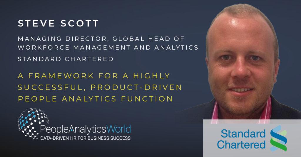 Steve Scott People Analytics Standard Chartered
