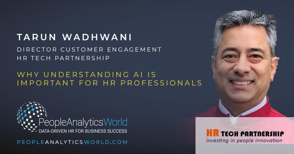 Tarun Wadhwani HR Tech Partnership AI