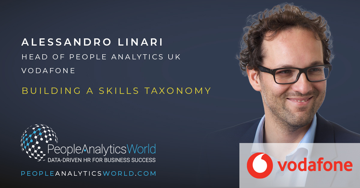 Alessandro Linari People Analytics Vodafone Skills Taxonomy