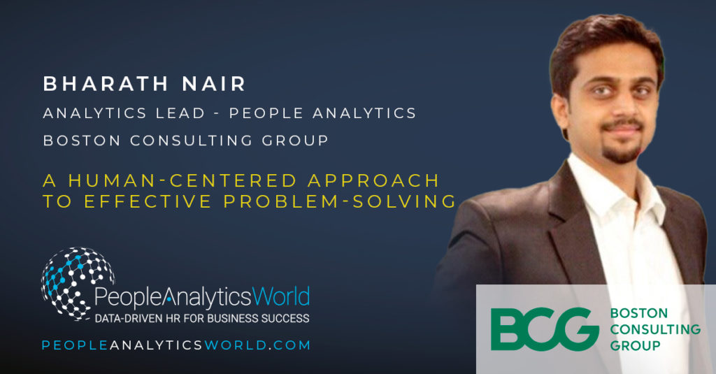 Bharath Nair Boston Consulting Group BCG Human Centred Design