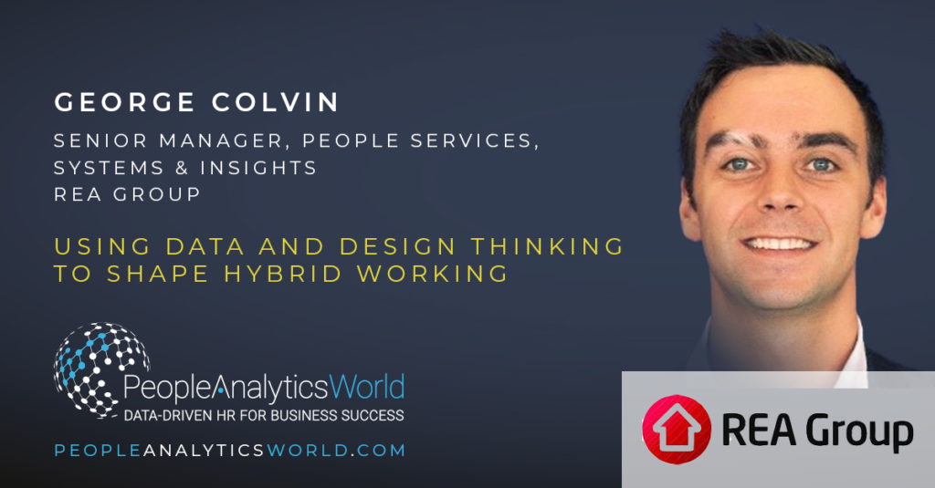 George Colvin REA Group Design Thinking Hybrid Working
