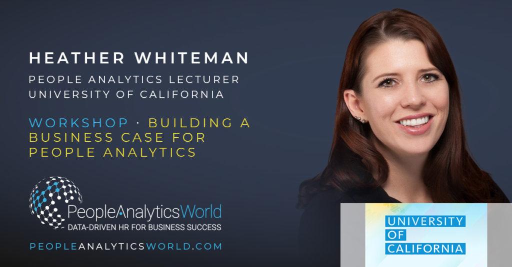 Heather Whiteman UCAL Business Case People Analytics