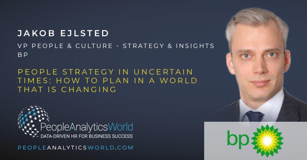 Jakob Ejlksted VP People Strategy Culture BP