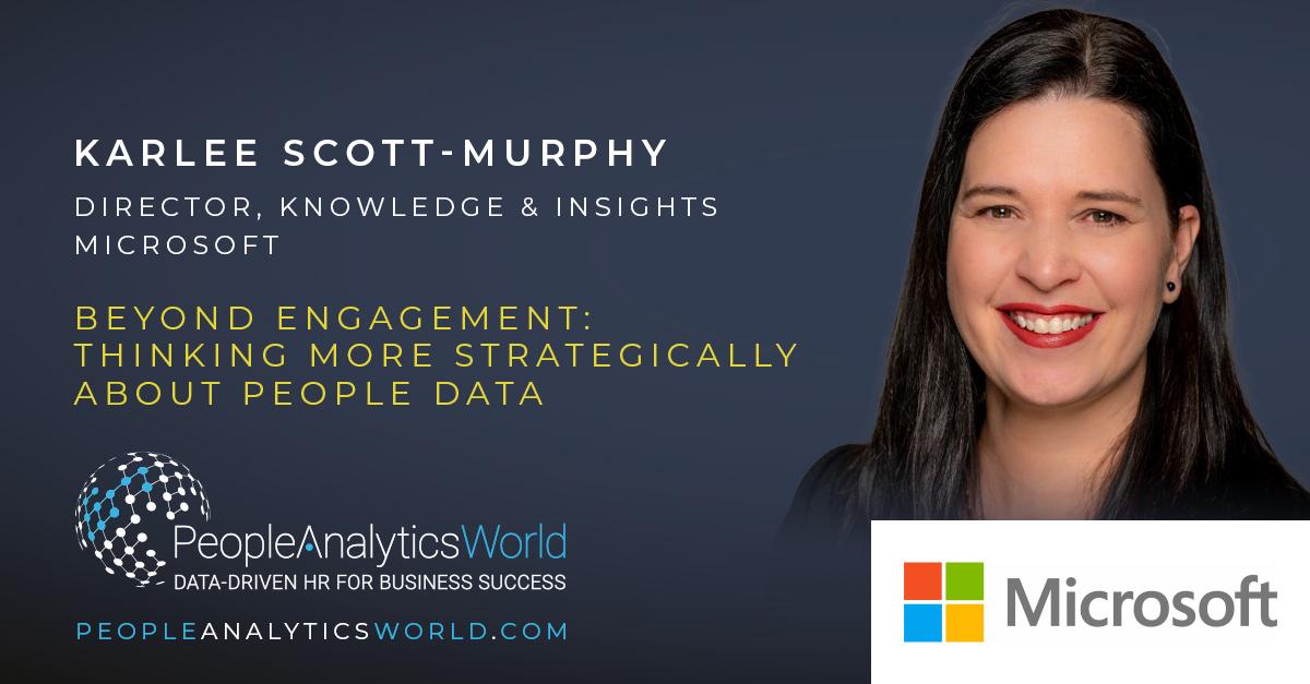 Karlee Scott Murphy Microsoft People Behaviour Data