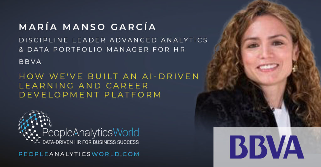 Maria Manso BBVA AI Career Development