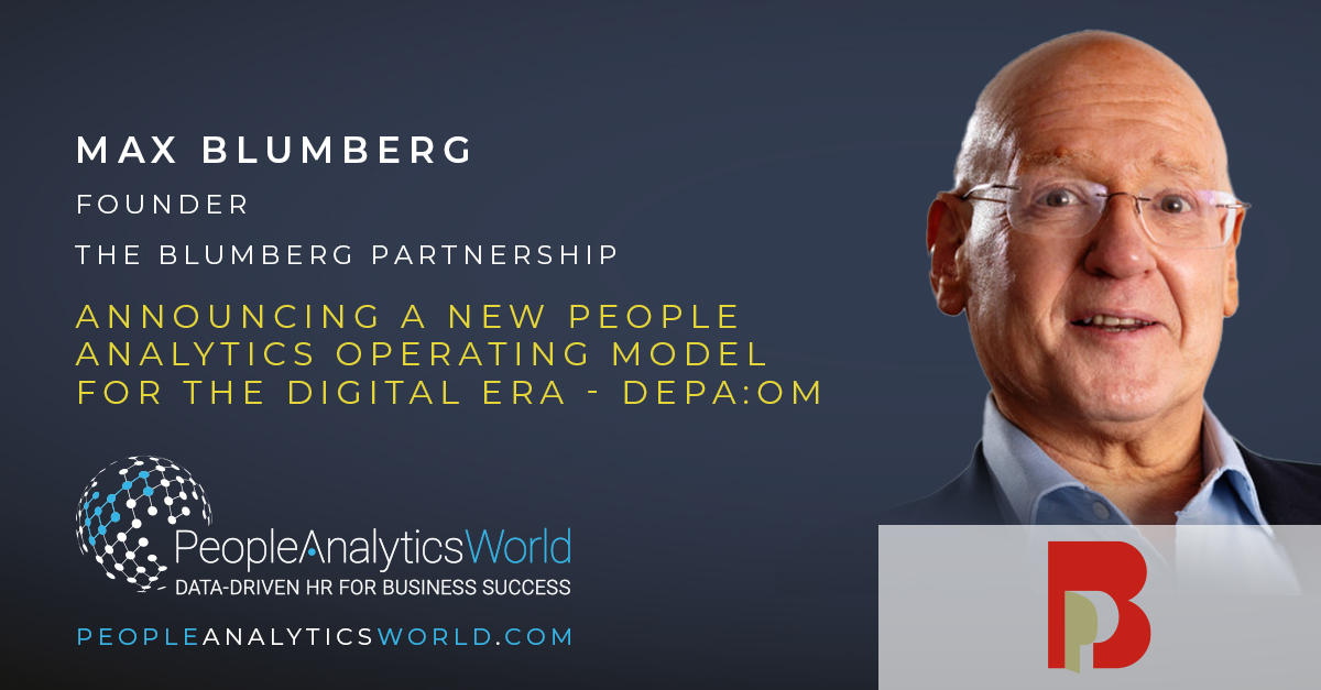 Max Blumberg People Analytics Operating Model