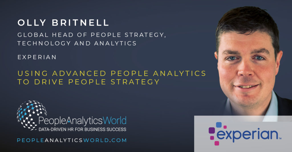 Olly Britnell People Strategy Analytics Experian