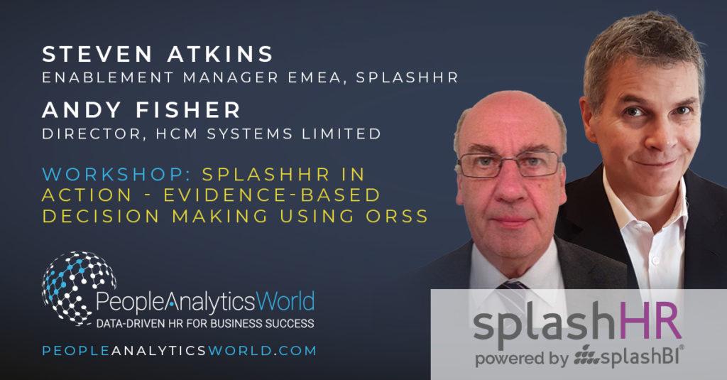 SplashBI Steven Atkins Andy Fisher