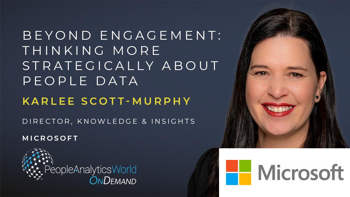Karlee Scott-Murphy Engagement People Data