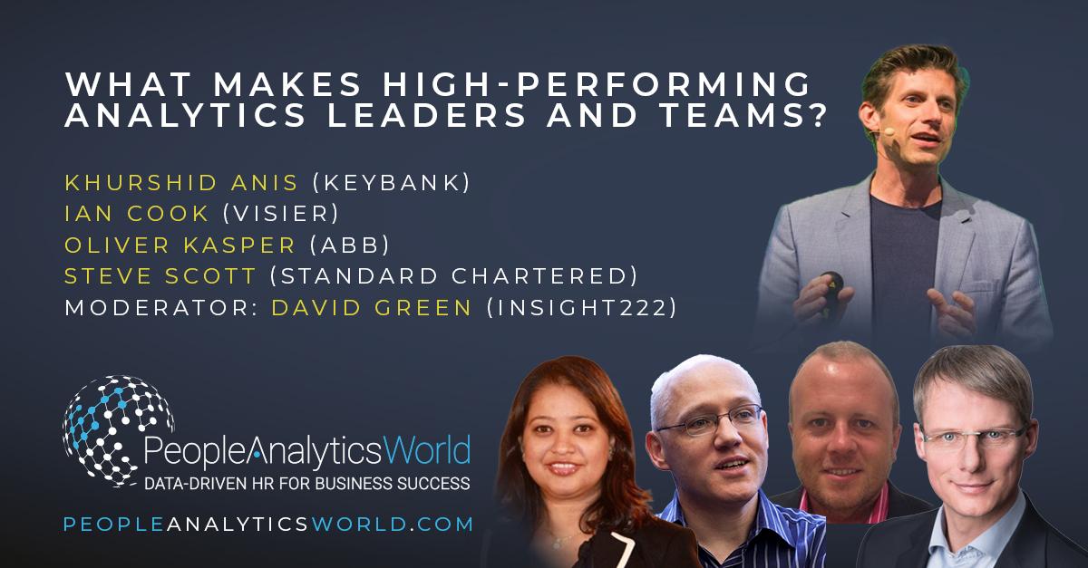 High-Performing Analytics Leaders Teams David Green