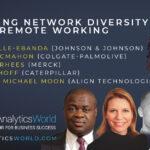 Optimising Network Diversity during Remote/Hybrid Working