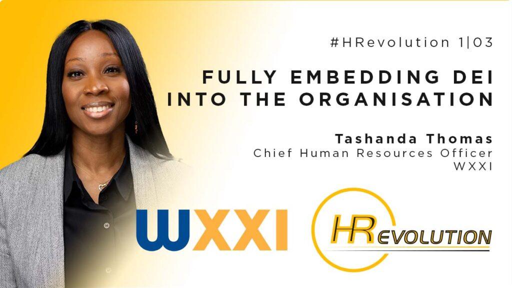 Tashanda Thomas WXXI HRevolution