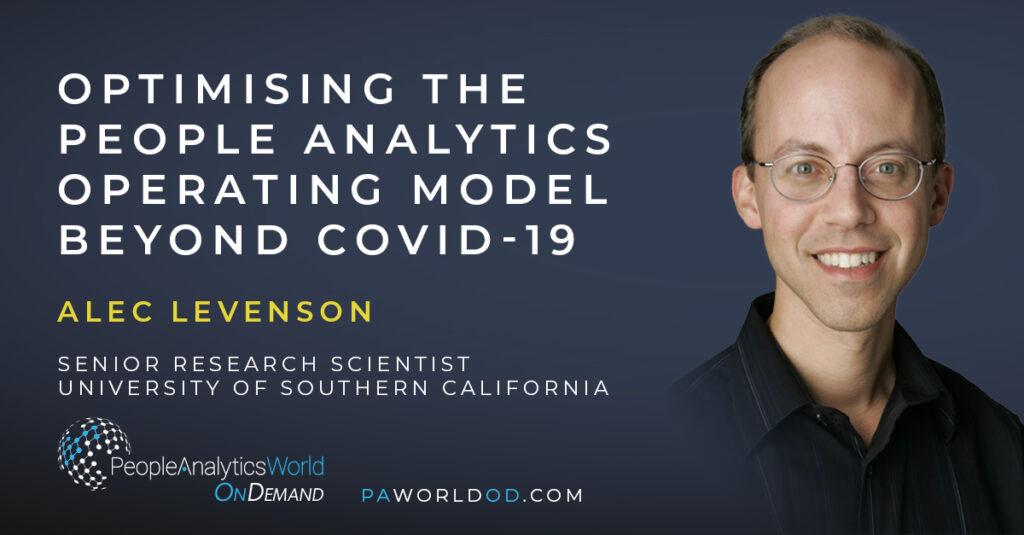 Alec Levenson People Analytics Operating Model