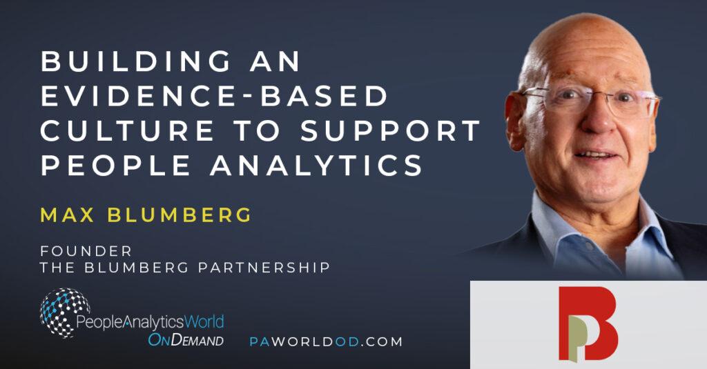 Max Blumberg Evidence-Based Management